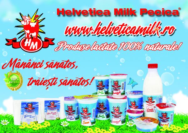 Castiga cu Helvetica Milk!