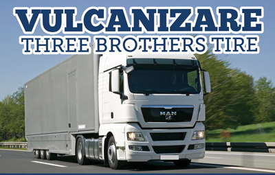 Castiga cu vulcanizarea Three Brothers Tire