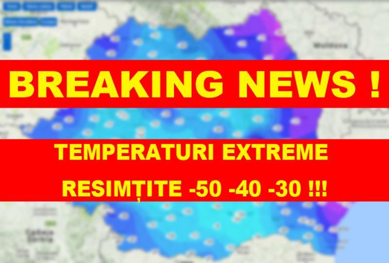 CEA MAI GEROASĂ DIMINEAȚĂ din ultimii ani! Temperaturile resimțite în județul Arad și în România au fost de-a dreptul Siberiene!!! (FOTO)