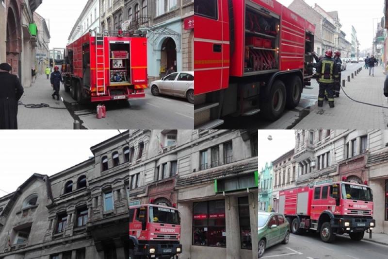 Incendiu pe strada Eminescu! (FOTO)