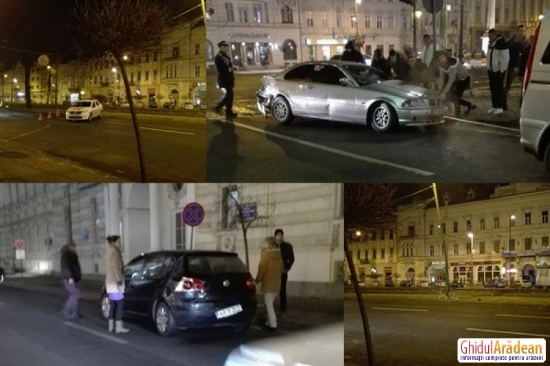 Accident pe Bulevard la km 0 (FOTO/VIDEO)