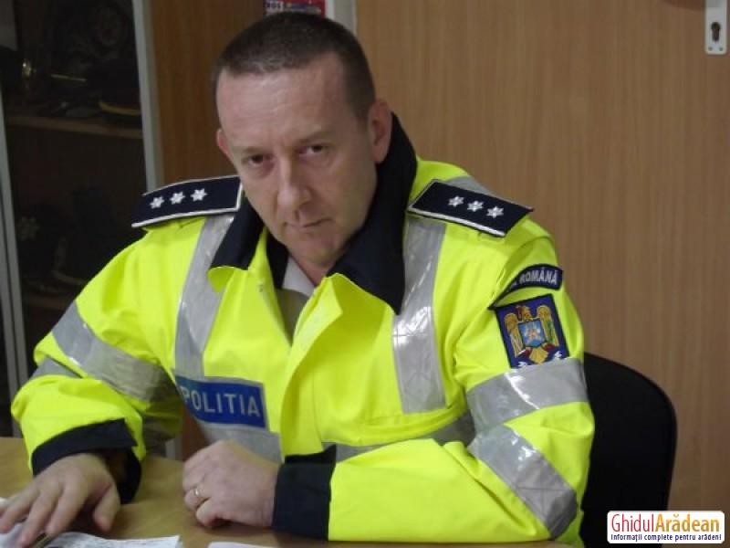 INTERVIU cu şeful Poliției Rutiere Arad, comisarul şef Goilean Dorin !