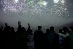 Focul de artificii din Coreea de Nord a impresionat întreaga lume. (VIDEO)