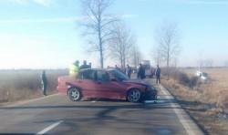 Accident pe drumul dintre Mocrea şi Seleuş