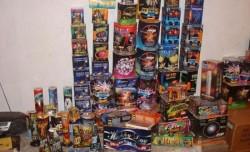 Aproape 6000 de materiale pirotehnice confiscate de poliţiştii arădeni!