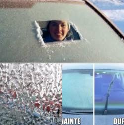 Cum dezgheți RAPID parbrizul de la maşină ! Toți şoferii trebuie să ştie aceste trucuri !