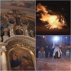 Sârbii din Arad sărbătoresc astăzi Ajunul Crăciunului pe rit vechi (FOTO)