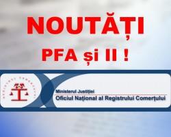 Dacă ai PFA sau II te interesează această știre! Legea privind înregistrarea şi funcţionarea PFA şi i.i. s-a schimbat. Vezi care sunt noutățile!