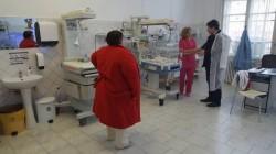 S-a îmbunătăţit sistemul de încălzire la Spitalul Matern din Arad pentru a face față gerului !