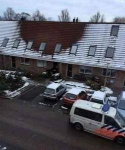 Ningea dar zăpada nu s-a depus pe acoperiş ! INCREDIBIL ce au descoperit polițiştii în pod !