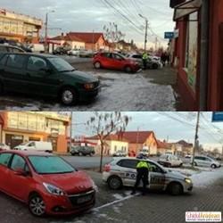 BREAKING NEWS! Agent de Poliţie acroşat de un sofer care a fugit de la locul ac ...