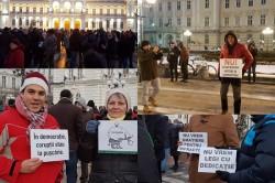 Proteste masive în toată ţara, şi la Arad au ieşit 300 de arădeni (FOTO)