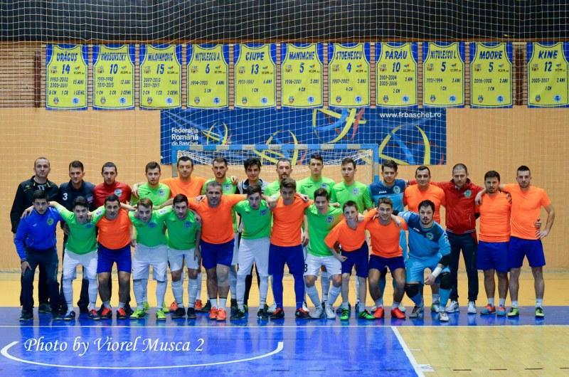 Optimile Cupei României la futsal: Șoimii Șimand – AS City'us Târgu Mureș 5-12
