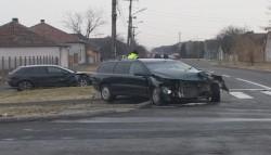 Accident Sânnicolaul Mic, cine este mai tare? Audi sau Volvo? (FOTO/Video declaraţii)