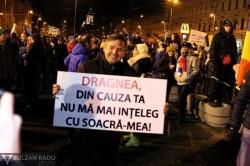 A cincea zi de proteste la Arad ! Arădenii nu rămân indiferenți! UPDATE! 6000 de arădeni pe străzile Aradului! (Galerie FOTO/ Video)