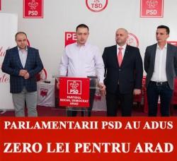 Fifor și ai lui, pesediștii ZERO pentru Arad!
