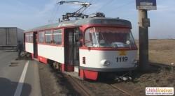 Tramvai deraiat între Arad şi Vladimirescu