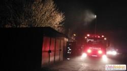 Un garaj a luat foc în cartierul Micălaca