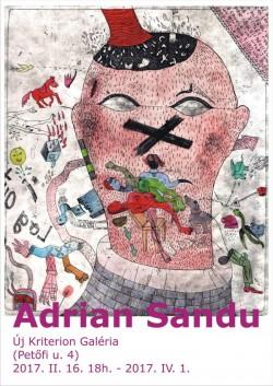 Uj Kriterion Galeria din Miercurea Ciuc găzduiește expoziția Psycho Games, semnată de artistul vizual arădean Adrian Sandu