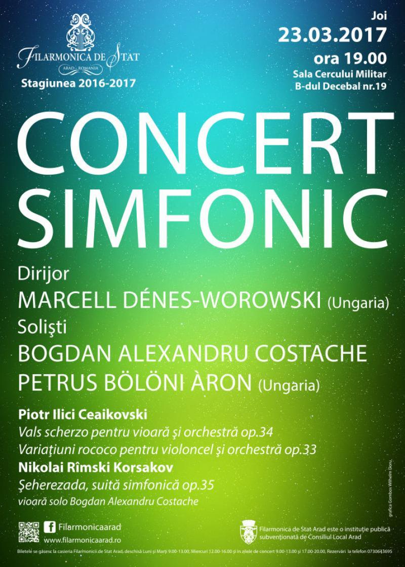 Muzică rusă și doi tineri soliști de excepție: Bogdan Alexandru Costache și Petrus Bölöni Àron
