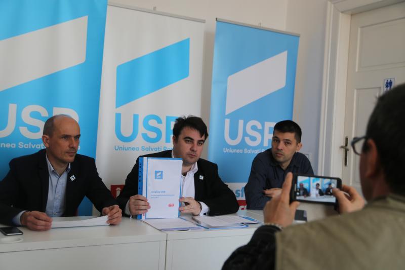 USR Arad simplifică bugetul pentru arădeni