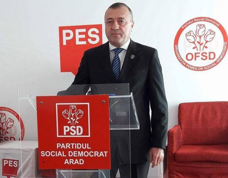 Cristian Ispravnic (PSD) : Rânjete şi promisiuni fictive în loc de fonduri şi asfalt din partea conducerii   CJA