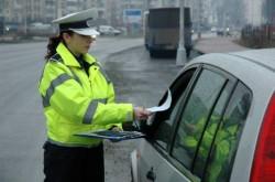 Depistat în trafic conducând un autoturism neînmatriculat