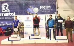 Bronz pentru Adrian Dodean la Campionatele Naţionale de seniori la tenis de masă de la Buzău