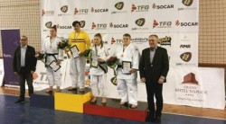 Beata Kabat, dublă medaliată la Naţionalele de judo