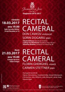 Sonate romantice cu violoncel la Filarmonica din Arad
