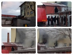 Breaking News : Incendiu la Complexul Comercial Jackson (Galerie FOTO )