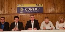 """Iustin Cionca:  """"PNL Curtici este o organizație puternică, le doresc să continue pe drumul rezultatelor excelente, alături de liderul lor!"""""""