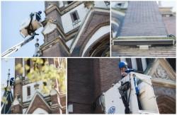 Biserica Roşie va fi iluminată arhitectural