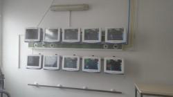 Secția ATI I a Spitalului Clinic Județean de Urgență Arad a fost dotată cu 10 monitoare performante!