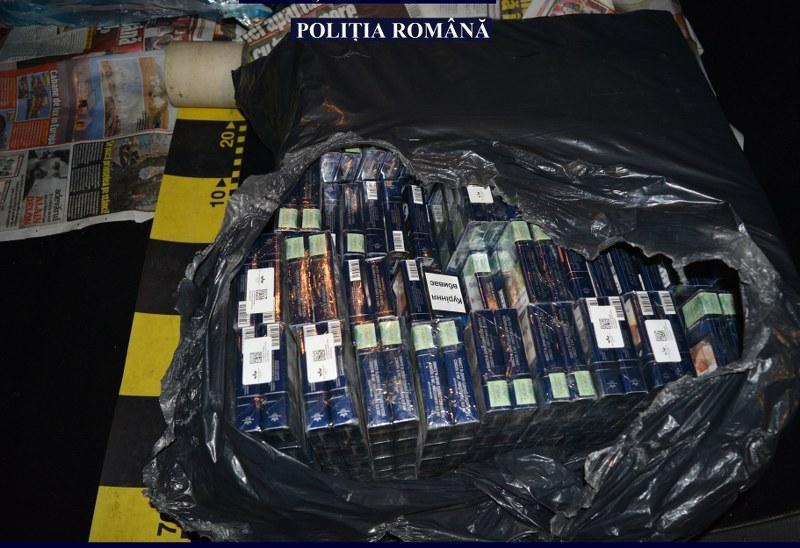 Transport ilegal de țigarete, depistat de polițiștii din Ineu !