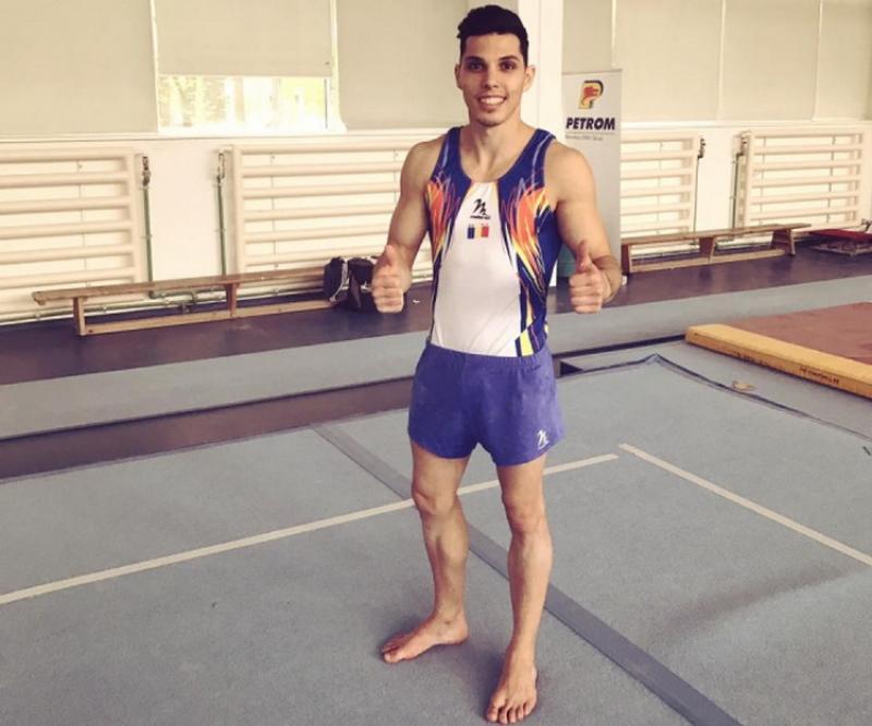 Arădeanul Adelin Kotrong în lotul pentru Campionatele Europene de gimnastică artistică