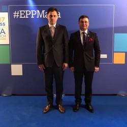 Parlamentarii liberali arădeni au reprezentat România la Congresul PPE