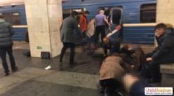 BREAKING NEWS| Două explozii la metroul din Sankt-Petersburg. Cel puțin 10 oameni au murit !