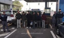 România ţară de tranzit spre Spaţiul Schengen. 14 persoane oprite la vama Nădlac
