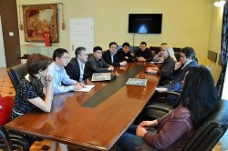 Chinezii interesaţi de investiţii în Arad