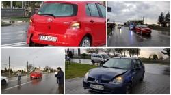Vremea rea+neatenţia = Accident pe Calea Zimandului (FOTO)
