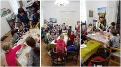 Expoziţie de etnografie și atelier de încondeiat ouă cu meșterul popular Maria Aiftincăi la Muzeul etnografic din Vladimirescu