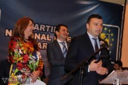 Predare de stafetă la organizaţia municipală a PNL Arad
