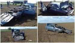Accident spectaculos pe drumul spre Zădăreni
