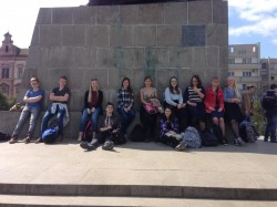 Elevi olandezi prezenţi la Arad, într-un schimb de experienţă, cu elevii Liceului Baptist Alexa Popovici din Arad !