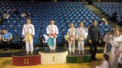 Aur pentru arădeanca Judoka Cristiana Mercea la concursul de judo Cupa Ungariei de la Debrecen