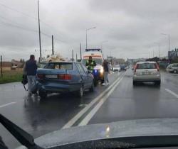 Accident joi după-masa în față la RAR !