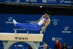 Gimnastul arădean Kotrong şi-a încheiat aventura europeană de la Cluj-Napoca