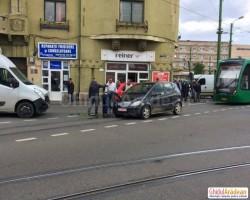 Accident în zona Boul Roşu
