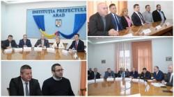Simulacru de dezbatere la Prefectura Arad pe tema înmatricularilor auto